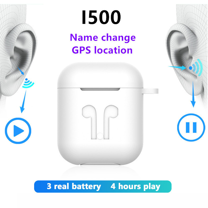 I500 TWS Air Pro Earbuds Noise Cancelling Headset Tap Control Earphone PK Super I30 I60 I90 I100 Audifonos Bluetooth Inalambrico