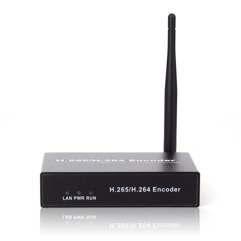 H.265 H.264 HDMI encodeur Audio vidéo Wifi Iptvs Rtsp Rtmp Onvif encodeur HDMI H265 pour la diffusion en direct (prise ue) - 3