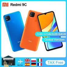 Versão global xiaomi redmi 9c 32gb 64gb telefone móvel helio g25 octa núcleo 6.53