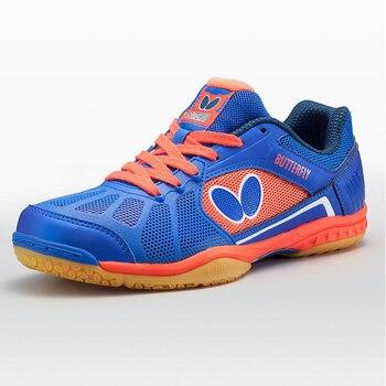 Erkekler Kadınlar Profesyonel Masa Tenisi Ayakkabı Altın Mavi Nefes Adam Eğitim Sneakers Tenis Kadın Atletizm Ayakkabı Büyük Boy