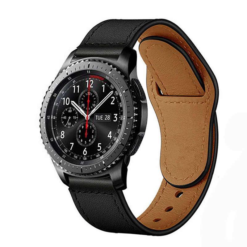 22mm reloj banda para Samsung Galaxy ver 46mm de S3 frontera/banda reloj Huawei gt Correa amazfit gtr 47mm correa de reloj