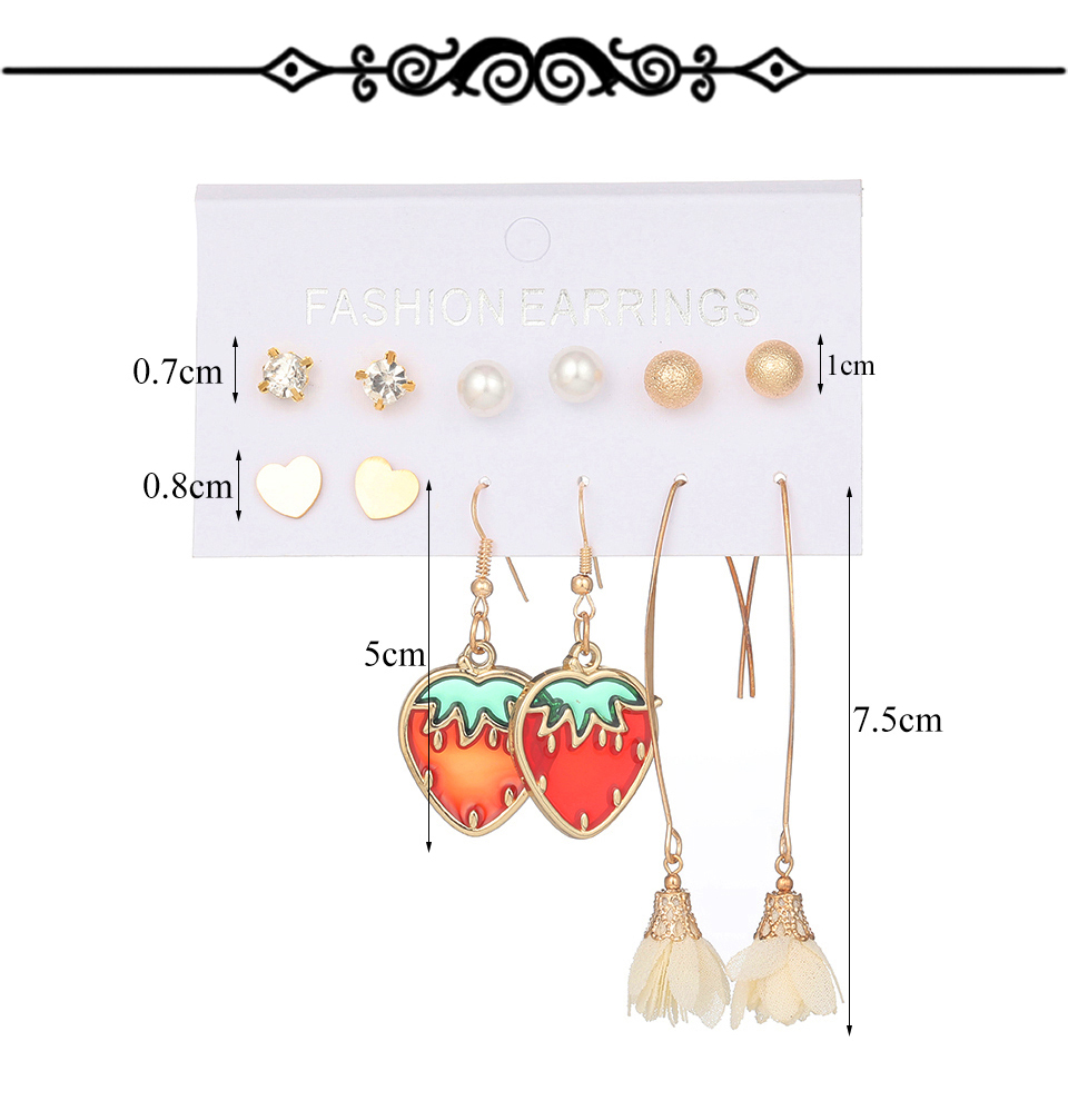 H85dddff8dd2946dcbe795b59c6222a804 - Multiple Women's  Boho Ethnic Drop Earrings
