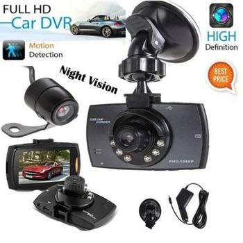 HD Dash-Cam Camera Front InCab Driving Recorder Car DVR GPS Logger G-Sensor image