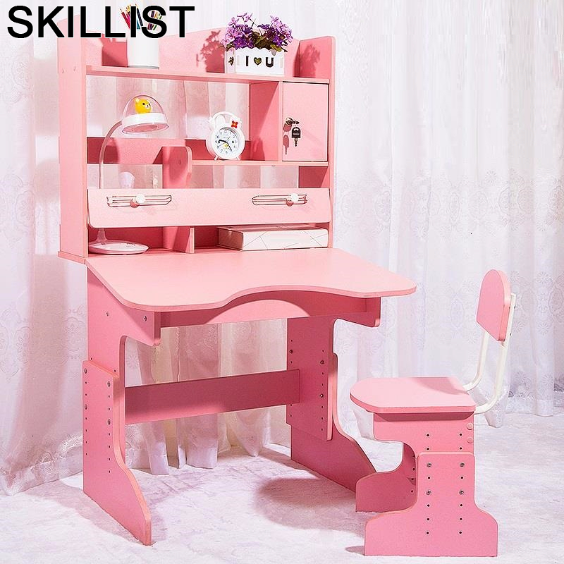 Pour Kindertisch Scrivania Tavolino Bambini Children And Chair Y Silla Adjustable Mesa Infantil Enfant For Study Kids Table