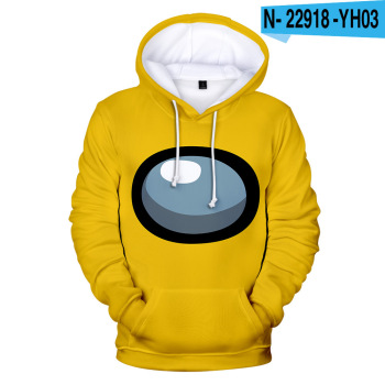 New Autumn Winter Tops Funny Print Among Us Hoodie Cartoon 3D Printed Pullover Sweatshirt Adult Harajuku Anime Pullover 31