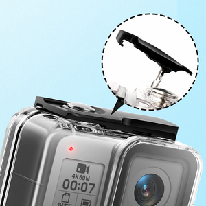 Image 3 - 2019 Diving 45M Waterproof Housing Case Underwater Protective Cover Housing Mount for Go Pro Hero 8 Black Camera Accessories