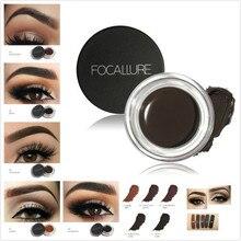 5 цветов, тени для бровей, макияж, водостойкая помада-гель для бровей, усилитель, Косметика для макияжа глаз, крем для бровей с кистью, профессиональный