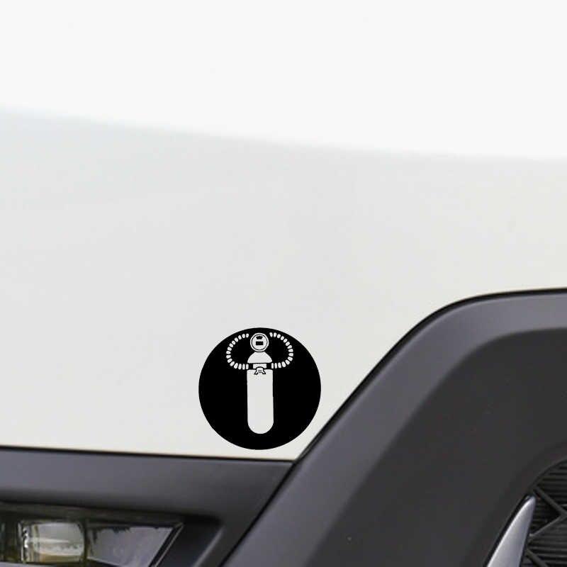 12.9*12.8 Cm Scuba Diving Dekorasi Jendela Emblem Mobil Stiker Vinyl Aksesoris Motor untuk Cadillac Kia Peugeot Mazda Toyota