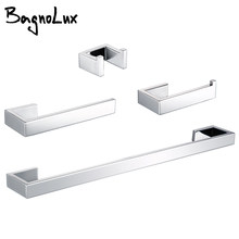Toiletrolhouder Handdoek Haken Badkamer Accessoires Kit Bar Rvs Slaapkamer Metalen Montage Keuken Bad Hardware Sets(China)