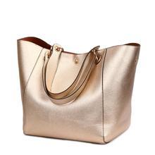 Vrouwen Lederen Handtassen Grote Vrouwen Tas 2 stks/set Hoge Kwaliteit Vrouwelijke Tassen Kofferbak Tote Dames Grote Schoudertas