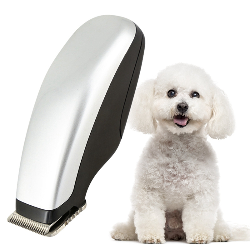 Pet Dog Cat Low-noise Hair Clipper Grooming Shaver Beauty Pet Dog Electrical Hair Trimmer Rechargeable Cut Machine Haircut Shave image