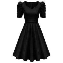 Летние платья, женское платье с v-образным воротом, свободное платье с карманами, с короткими рукавами-клеш ТРАПЕЦИЕВИДНОЕ Элегантное повсе...