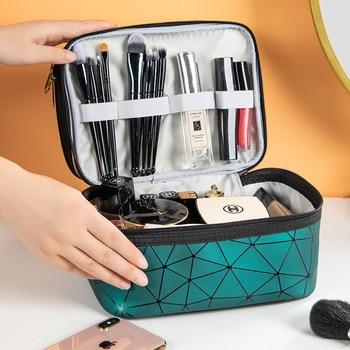Multifunction Travel Clear Makeup Bag Fashion Diamond Cosmetic Bag Toiletries Organizer Waterproof Females Storage Make Up Cases 4