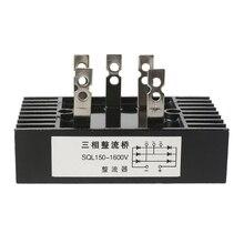 3 Phase Diode Bridge Rectifier SQL150A Three-phase Bridge Rectifier 200 Degree Aluminum Module Rectifier