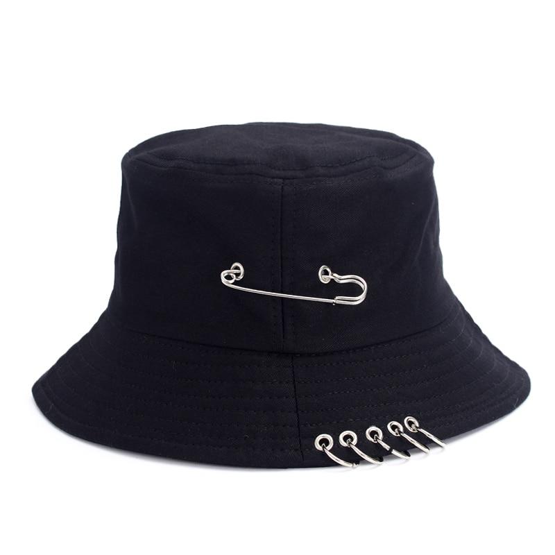 Jungkook Airport Fashion Pin Fisherman Hat 25