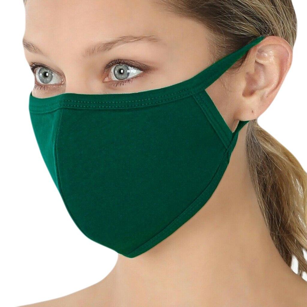 Хлопковая маска для лица, маска с активированным углем, моющиеся и многоразовые маски для лица, дышащая маска для рта Mascarilla Summer d55