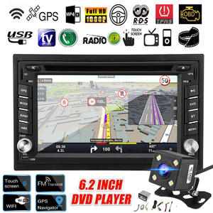 Dvd-Player Multimedia-Radio Rear-View-Camera Wifi Stereo 2-Din Touch-Screen Bluetooth
