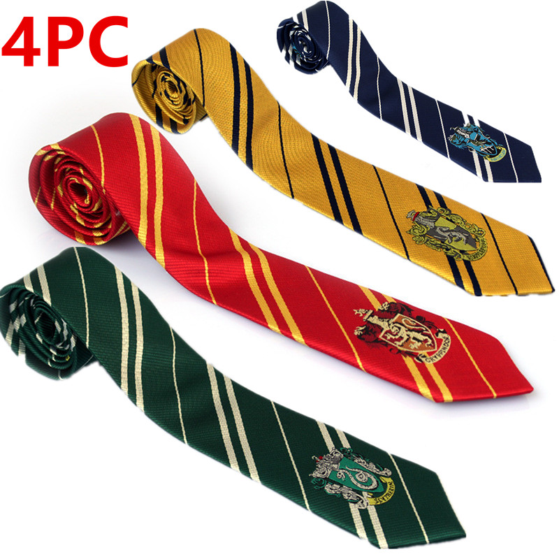 Kids & Adult  Fashion  Slytherin Porter Tie Academy Style Cosplay Costume Harris Tie Scarf Party Supplies Children's Day Gifts