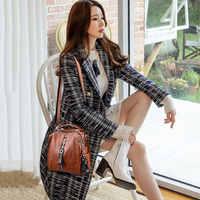 handbags women genuine leather shoulder bag for women zip pocket big capacity fashion 2020 black women shopping bag
