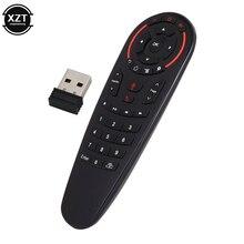 2.4G żyroskop G30 pilot bezprzewodowa mysz 33 klawiszy IR nauka głosu dla X96 mini H96 MAX Android TV, pudełko Smart Remote