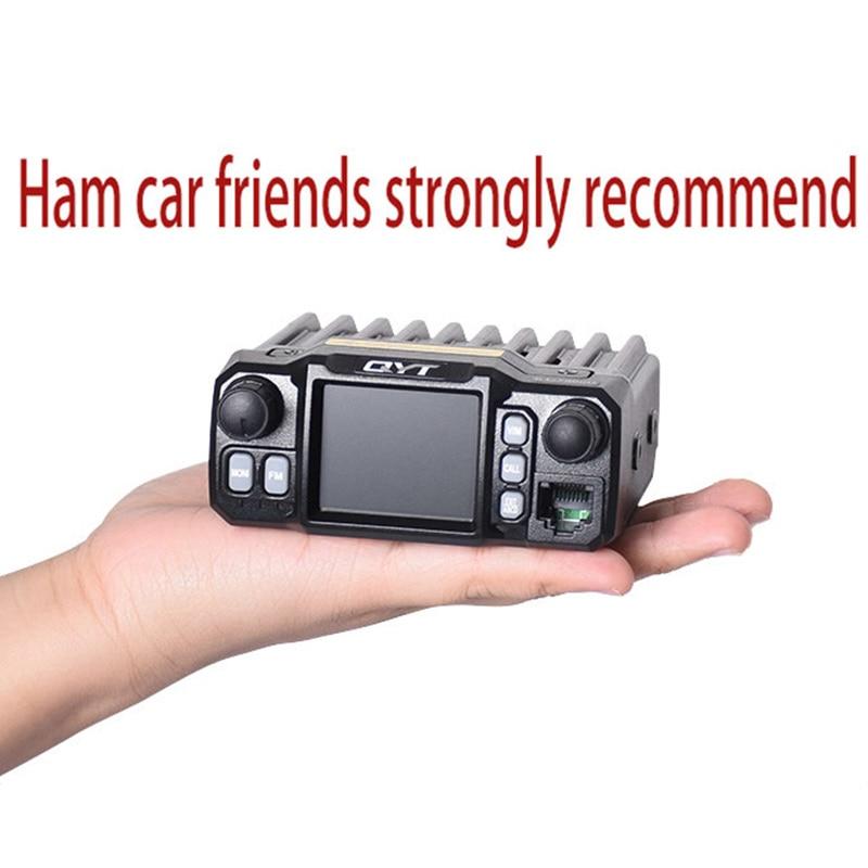 1pz Mini Car Walkie Talkie Truck Radio 50km Dual Band UHF VHF Amateur Radio Transceiver Portable Hunting Car Radio Stations