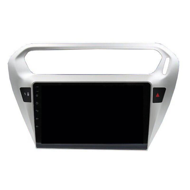 Автомобильное радио ChoGath 1024*600 10,2 дюйма с четырёхъядерным процессором, Android, gps навигацией для Peugeot 301 и Citroen Elysee, с Bluetooth, Wi Fi