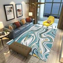 Цветной нескользящий квадратный напольный коврик 06 с сыпучим