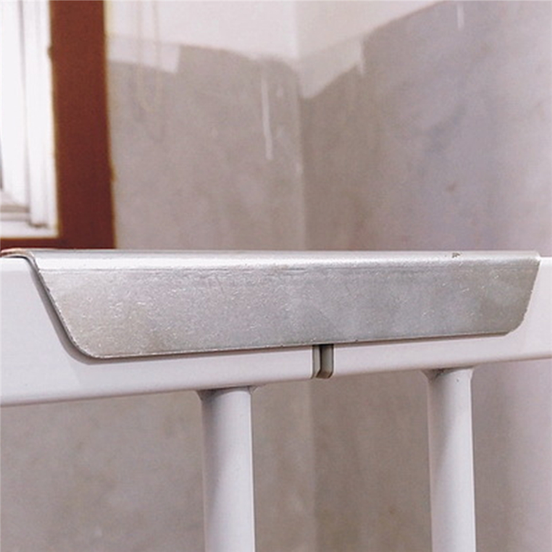 Quality Stainless Steel Baby Stairway Guard Bar Child Kid Safety Gate Door Reinforcement Groove Fittings Pet Dog Isolation Fence