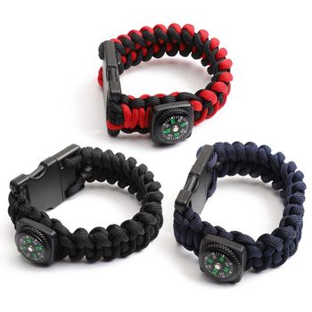 New Portable Braided Rope Bracelet U Disk USB2.0 32GB USB Flash Drive with Compass
