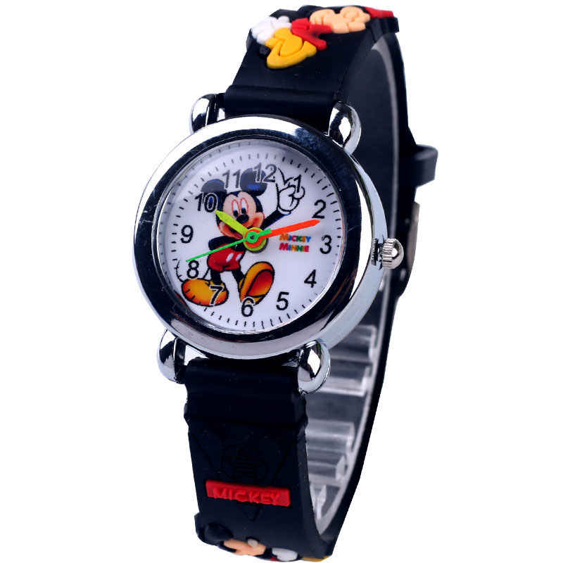 ミッキーウォッチ子供アウトドアスポーツクォーツ腕時計リフト防水子供腕時計時計赤ちゃん男の子女子児童学生