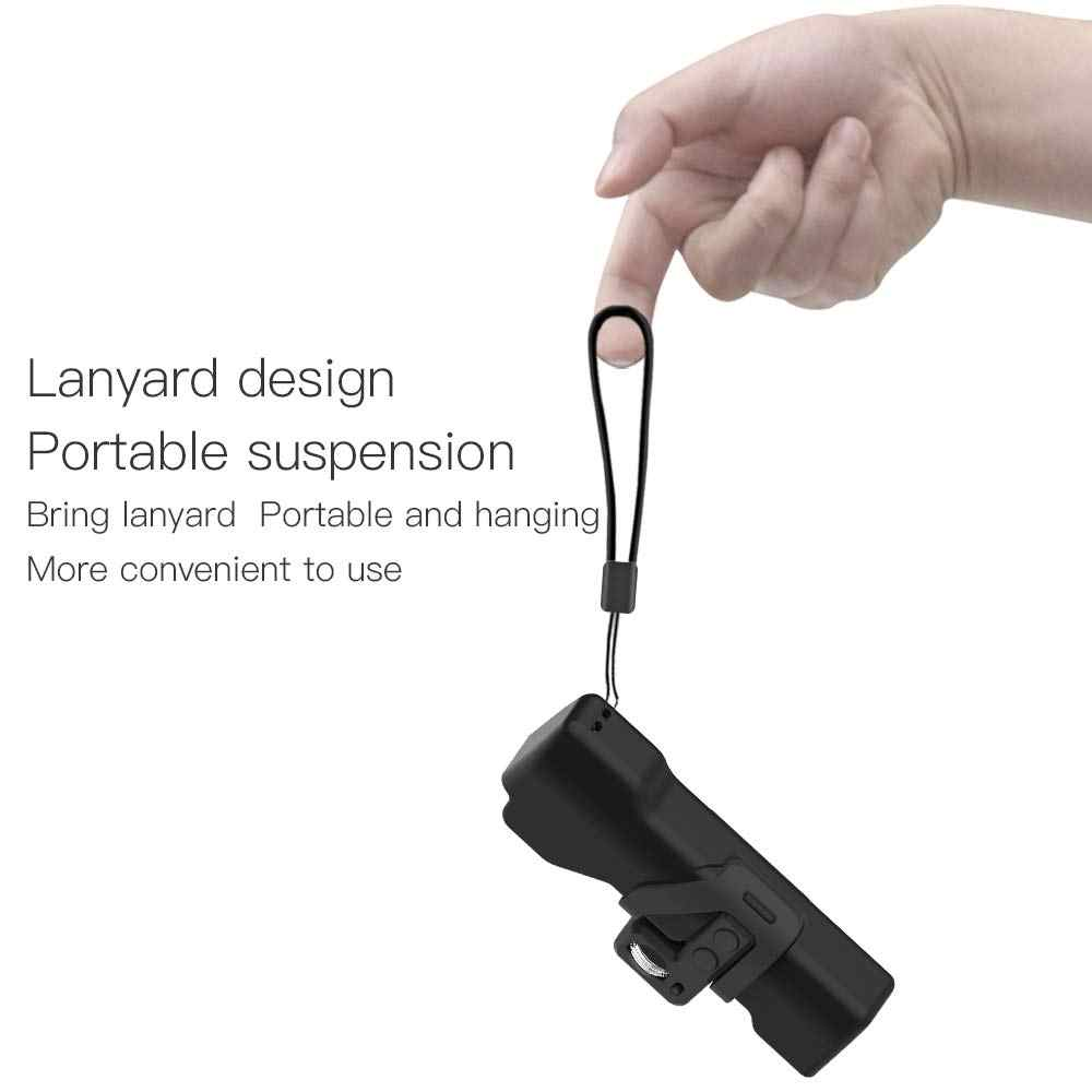 תיק נשיאה תואם עם DJI אוסמו כיס כף יד Gimbal מצלמה מותקן בקר גלגל מיני נייד להגן על כיסוי מקרה