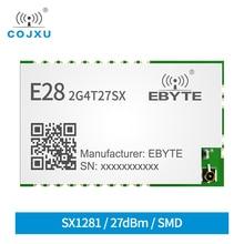 E28-2G4T27SX LoRa wireless module 2.4GHz 27dBm 500mW 7km UART LoRa module SX1281 Wireless