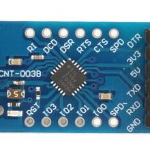 цена на Module Serial Converter CP2104 USB 2.0 to TTL UART 6PIN Module Serial Converter Board Module with Wire