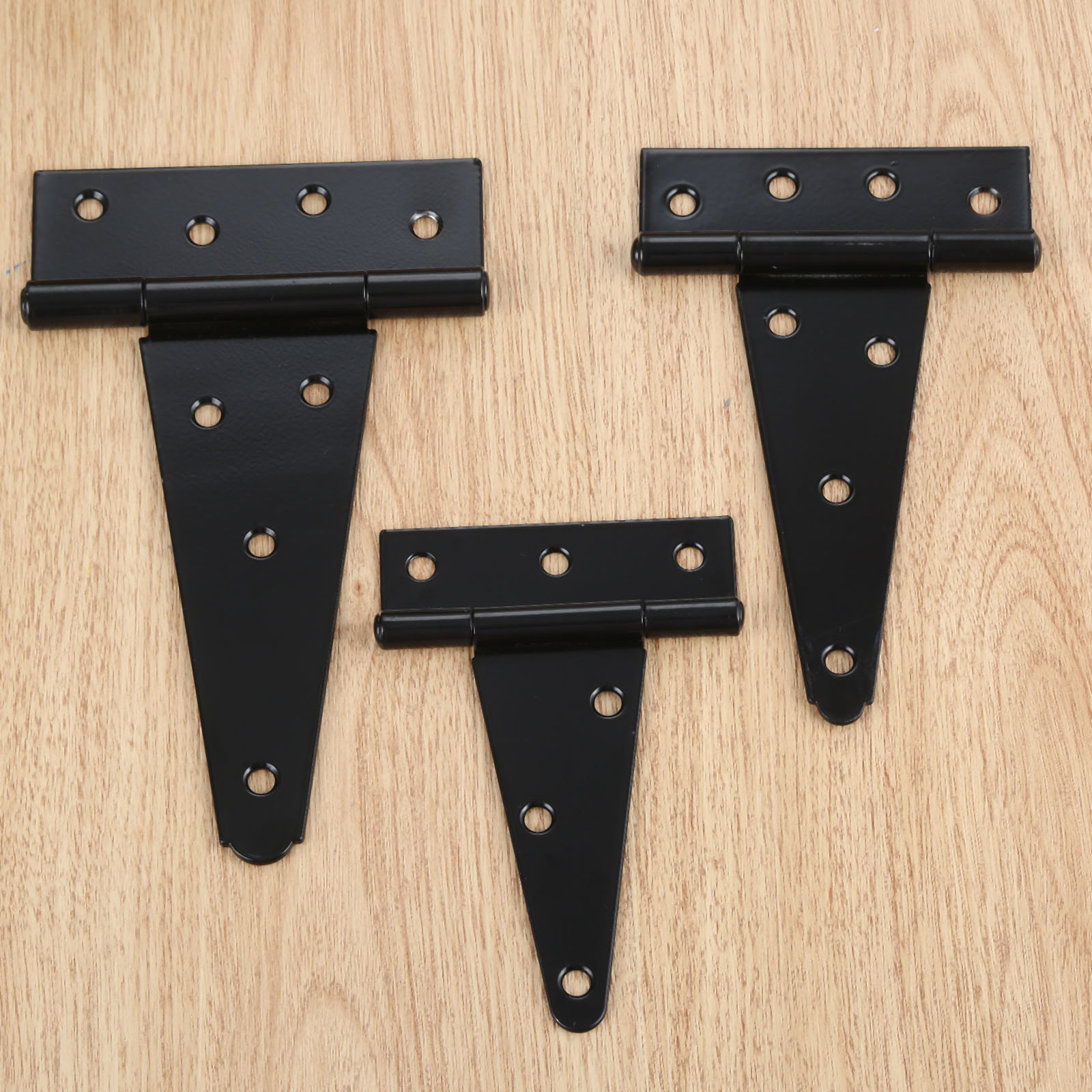 4/5/6inch Tee Hinge Wooden Box Case Industry Hinge Tool Box Wood Gate Door Heavy Thickening Hinge Furniture Hardware