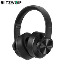 BlitzWolf BW-HP2 bluetooth-Kopfhörer Drahtloser Kopfhörer Bluetooth-Headset Gaming-Headset 50-mm-Treiber Touch Control 1000mAh Faltbares Over-Ear-Gamer-Headset mit Mikrofon