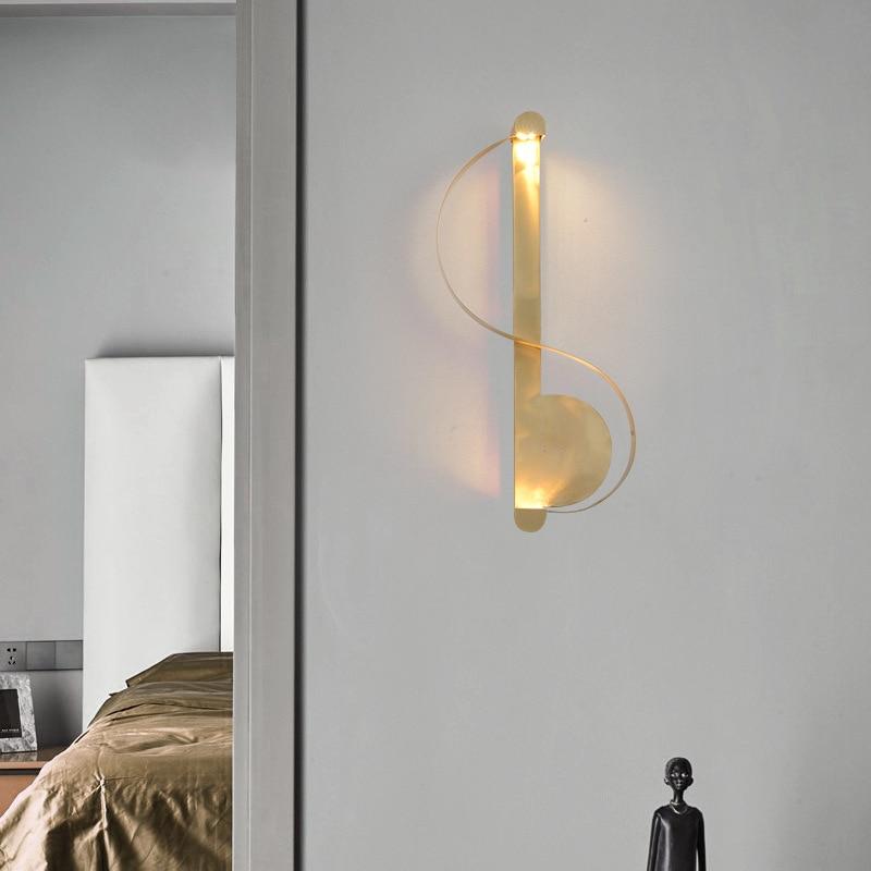 Vintage Deco Maison Nicho De Parede Crystal Bedside Bedroom  Dining Room Lampara Pared Wall Lights For Home