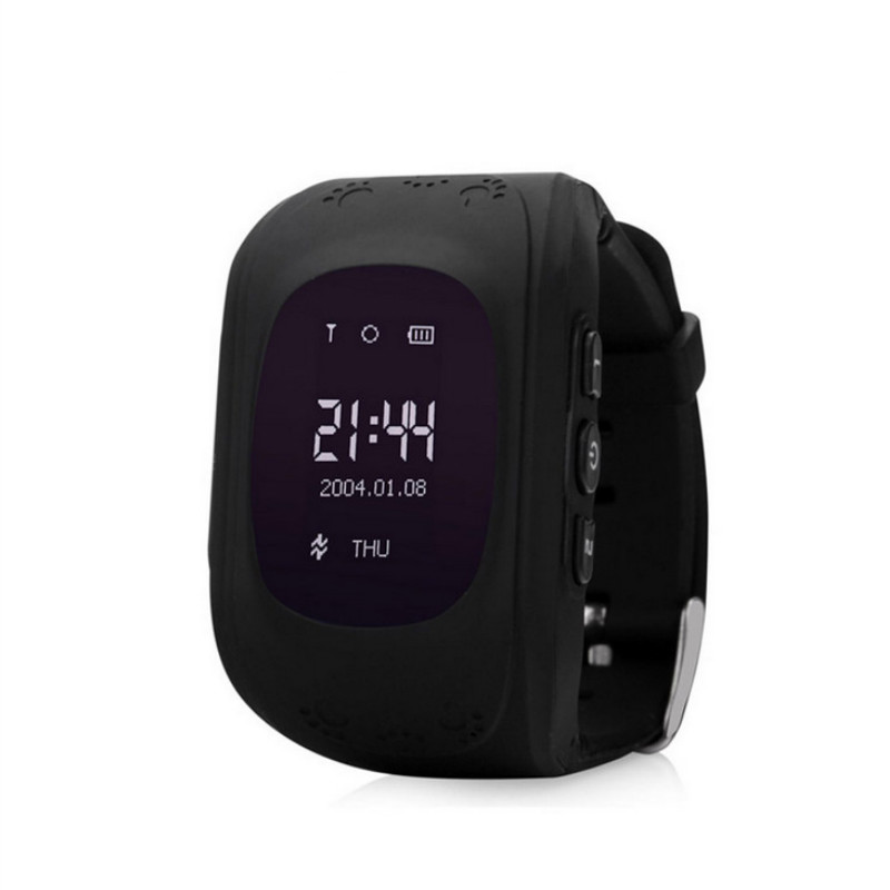 <font><b>Q50</b></font> anti-lost smart watch OLED 2G SIM card call kids <font><b>GPS</b></font> tracker SOS child smart remote monitoring positioning baby smart watch image