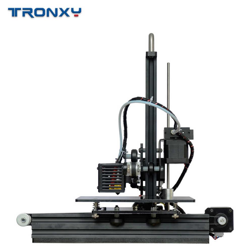 Tronxy X1 3D Impresora I3 Impresora polea versión guía lineal Imprimante pantalla LCD de alta precisión de impresión apoyo fuera de línea