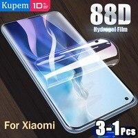 Pellicola Hydrogel per Xiaomi Mi 11 Lite Ultra Mix 4 pellicola salvaschermo Poco F3 X3 M3 Note 10 T Pro I SE MI11 Mix4 non protezione vetro