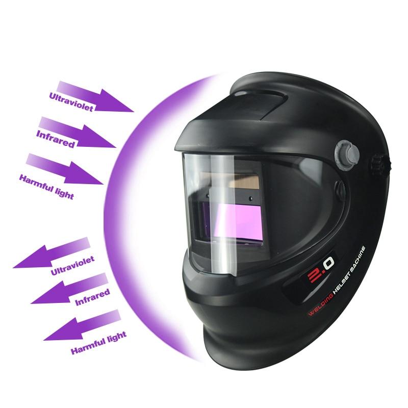 Солнечная Авто Затемнение электрическая Wlding маска шлем сварщик крышка сварочные линзы глаза маска для сварочного аппарата и плазменной ре...