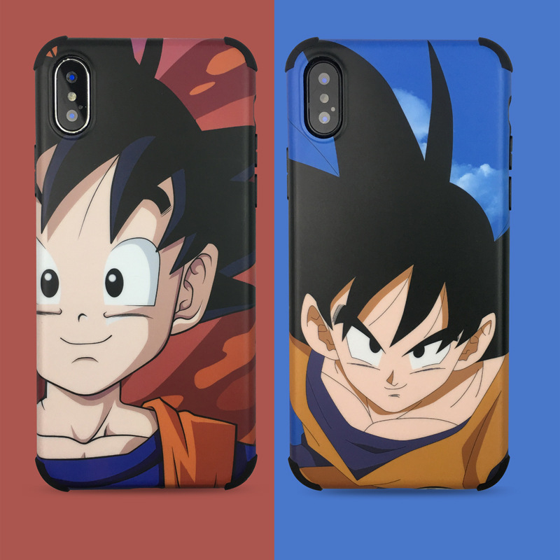 Dragon Ball goku Super DBZ Anime phone case for coque iPhone 7 6 8 6s 7