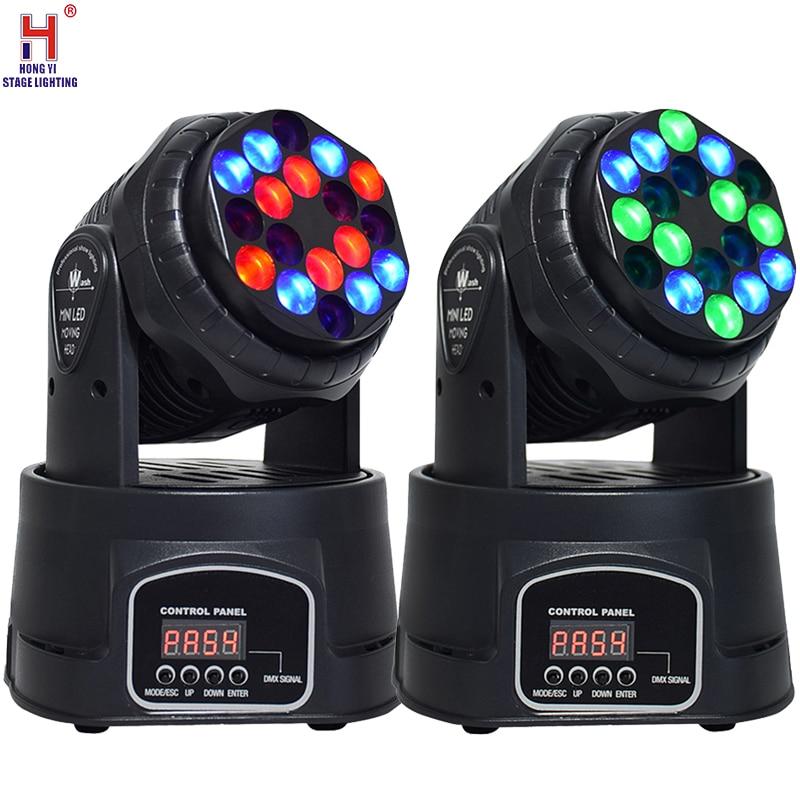 Диско-светильник RGB 18x 3W светодиодный сценический светильник движущийся головной Луч вечерние светильник s DMX512 светодиодный Dj