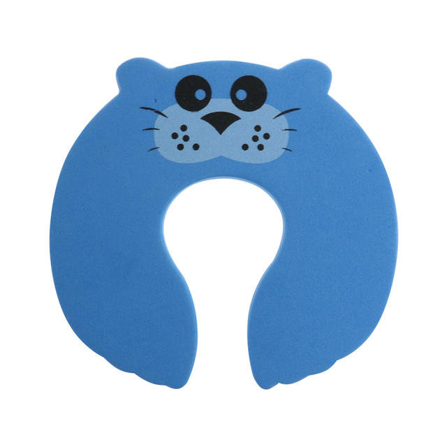 5Pcs/Lot Protection Baby Safety Cute Animal Security Door Stopper Baby Card Lock Newborn Care Child Finger Protector 5
