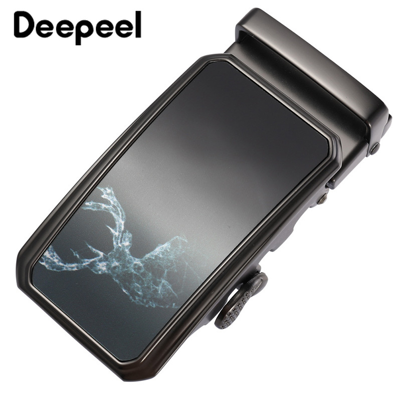 Deepeel 1pc ID36mm High-quality Alloy Automatic Buckle Head Fashion Casual Belt Buckle DIY Youth Leather Belt Decor Material