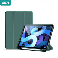 ESR TPU Case for iPad Air 4 Case for iPad Air 2020 Case 10.9 Pencil Case Magnetic Case Inner Funda Smart Cover Trifold Case