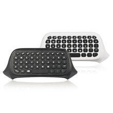 47 Keys Wireless 2.4G Practical Mini Handheld Keyboard Gaming Message Gamepad For XBOX ONE S Controller