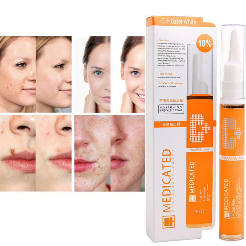 15ML Freckle Remover Gel Vitamin C Whitening Anti-Freckle Cream Pencil to effectively remove stains and freckles