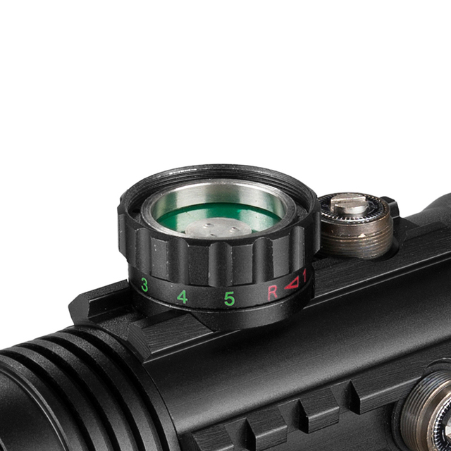 4X33 Green Red Dot Sight Scope Tactical Optics Riflescope Fit 11/20mm Rail Rifle Scopes for Hunting 3
