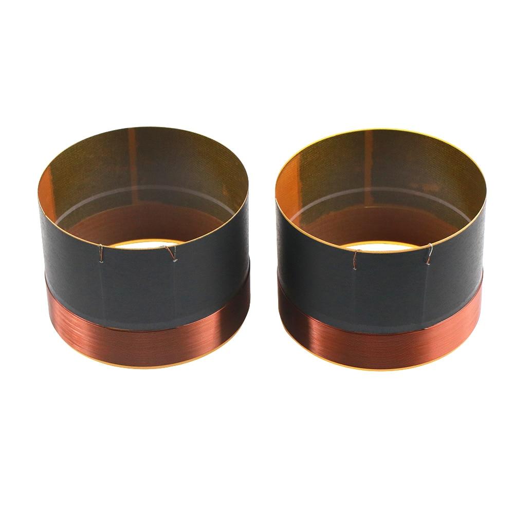 1 pcs of 38.5mm 1.5/' black aluminous bass loudspeaker woofer speaker voice coil