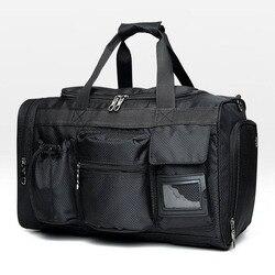 Outdoor First Aid Kit Leisure and Sports Black Nylon Waterproof Cross Messenger Bag Family Travel Emergency Medical Bag DJJB042